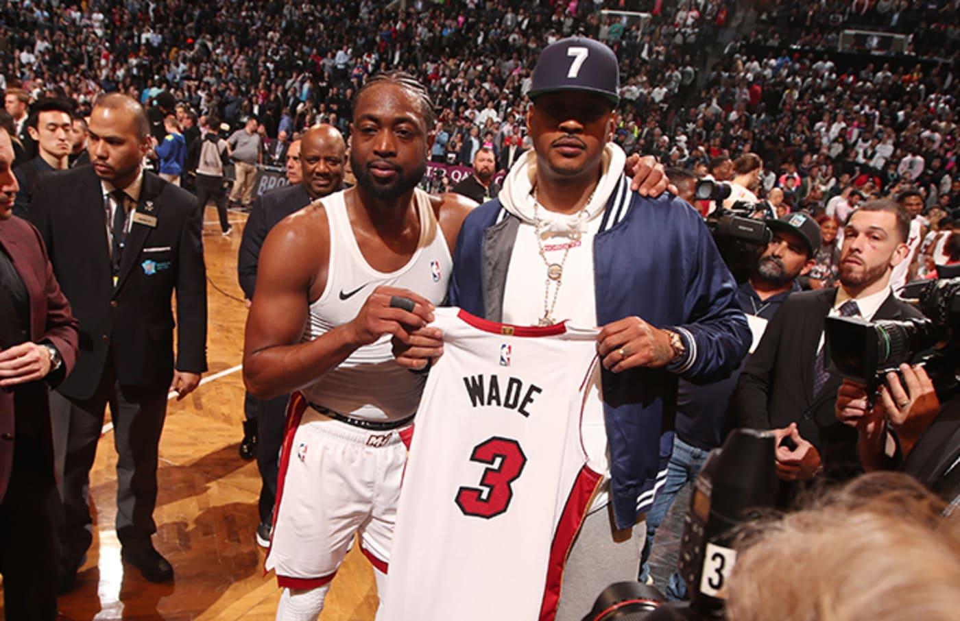 Dwyane Wade and Carmelo Anthony