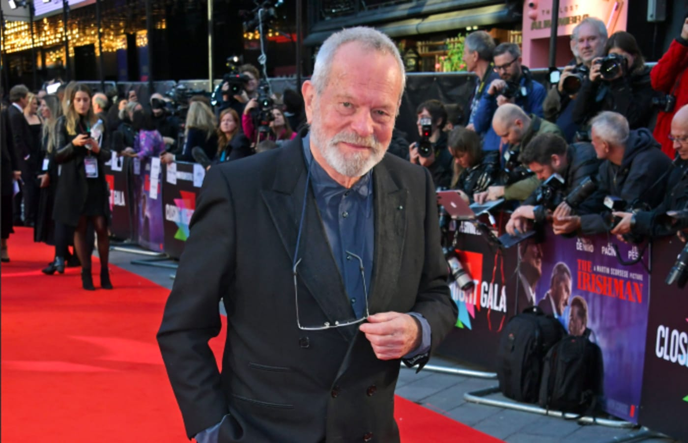 Terry Gilliam attends the International Premiere and Closing Night Gala