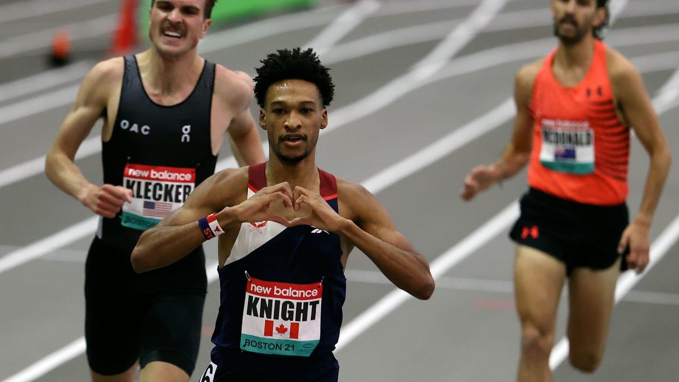 Toronto long-distance runner Justyn Knight