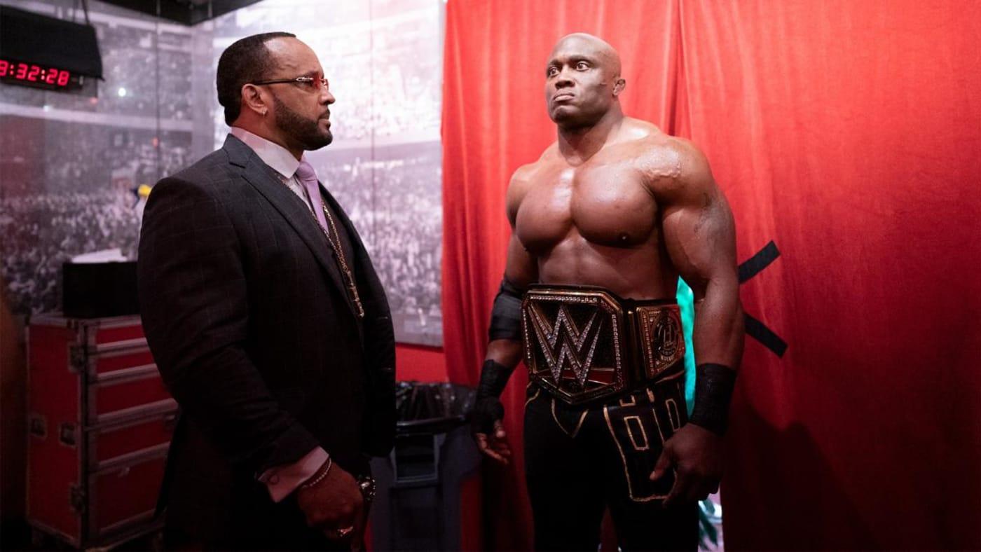 WWE Champion Bobby Lashley and MVP