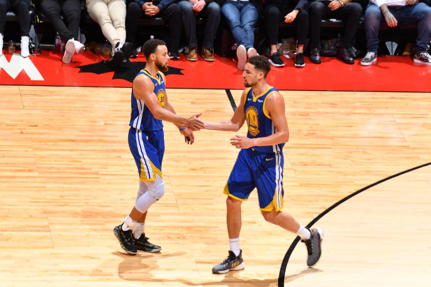 Steph Curry & Klay Thompson
