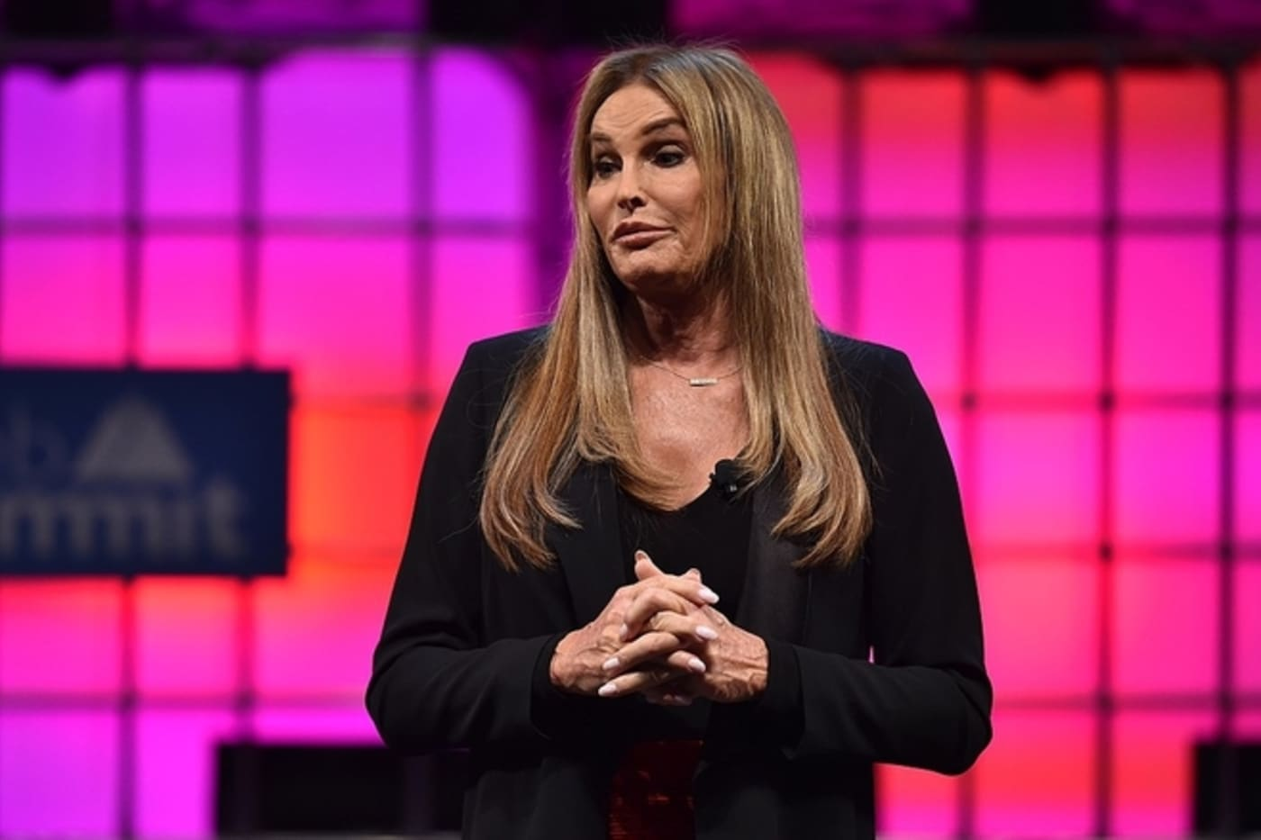 Caitlyn Jenner at the Web Summit 2017 at Altice Arena