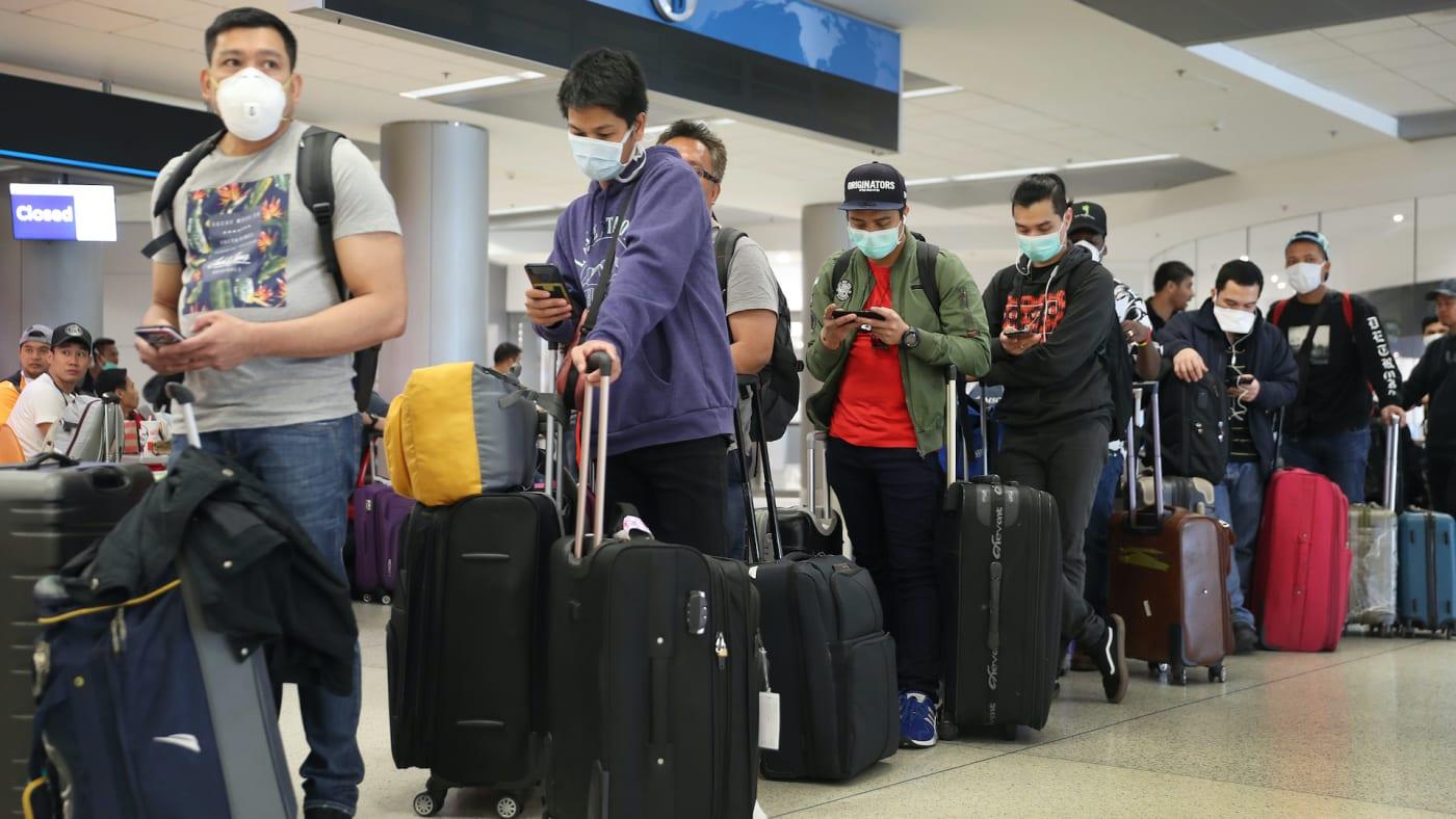 airport masks