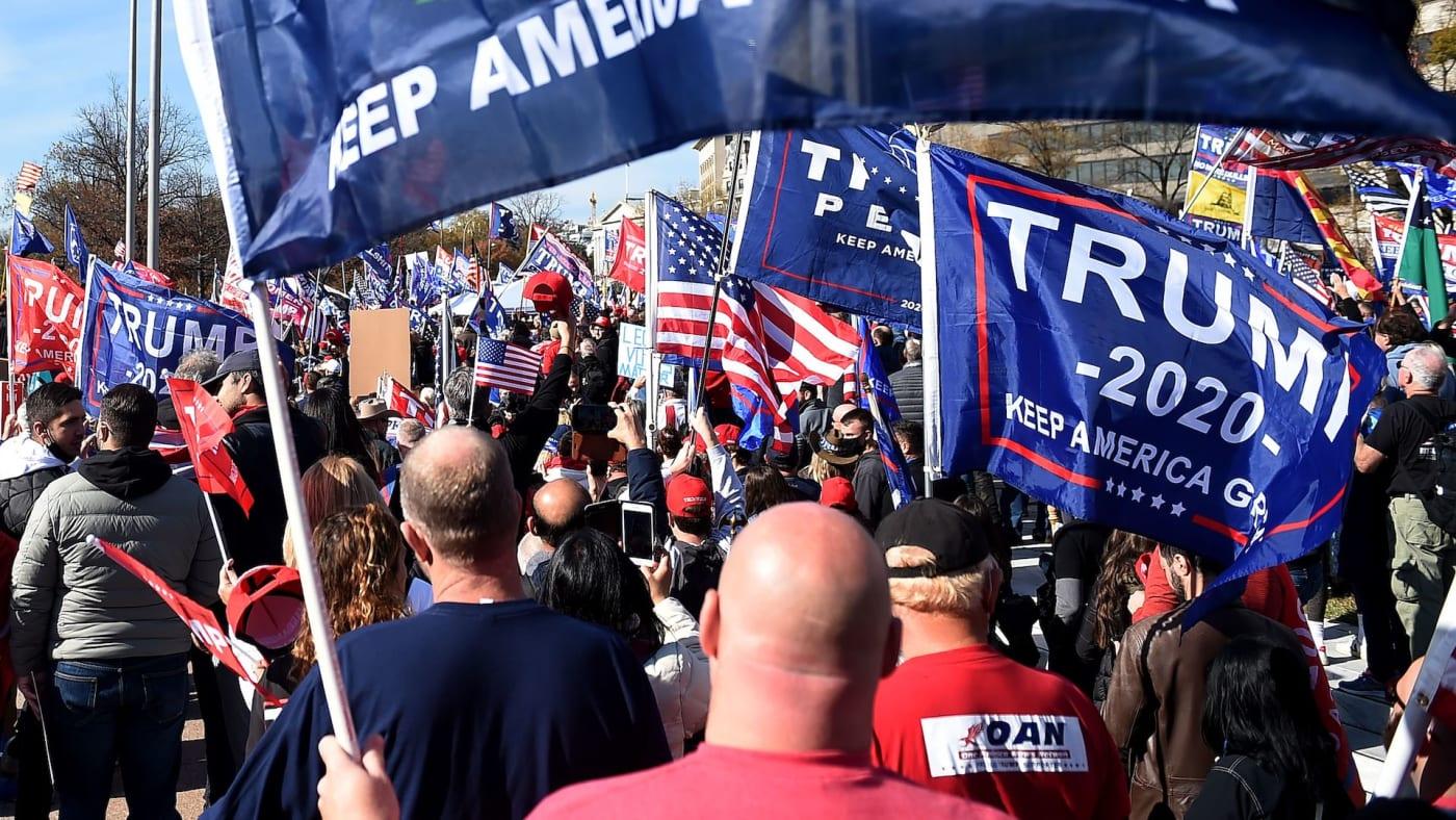 trump rally arrests