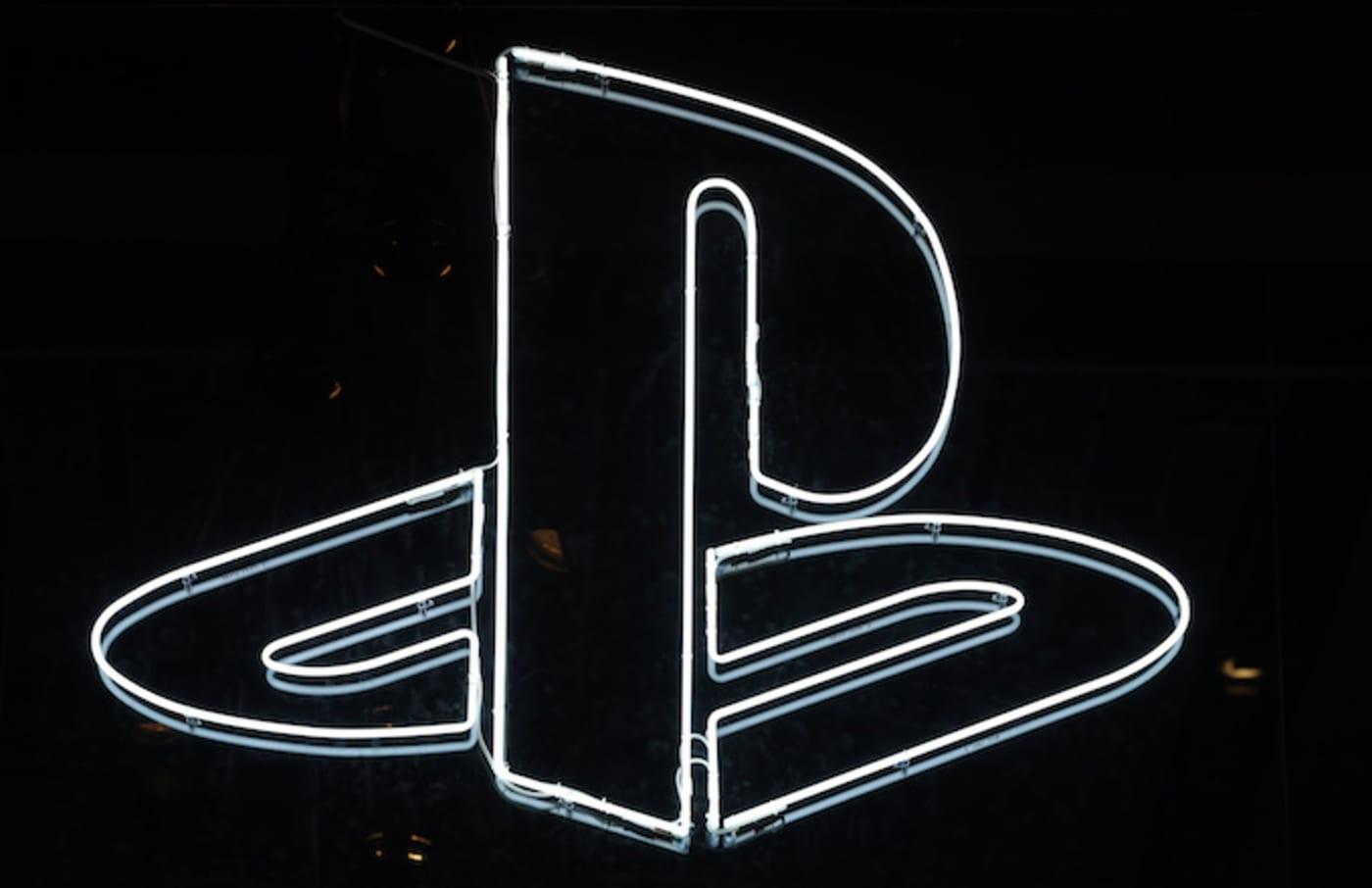 PlayStation logo is displayed during the 'Paris Games Week.'