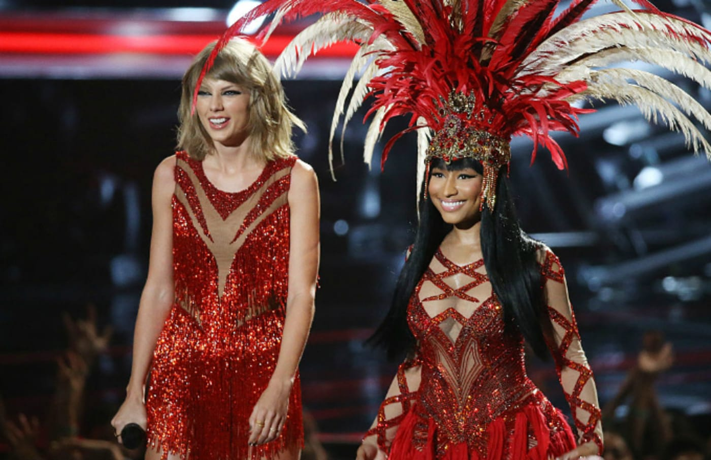 Nicki Minaj and Taylor Swift