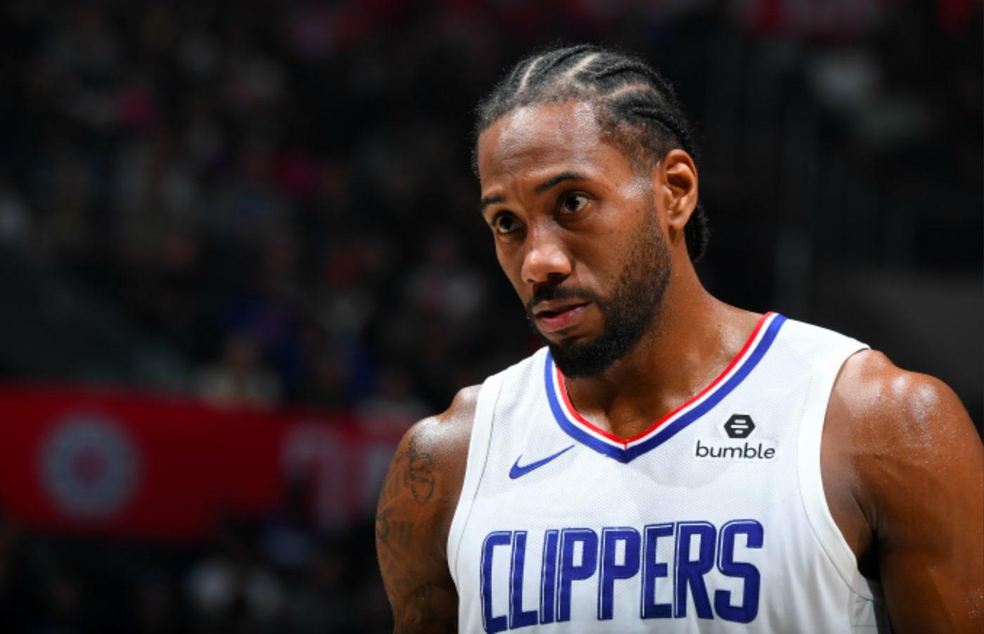 Kawhi Leonard #2 of the LA Clippers