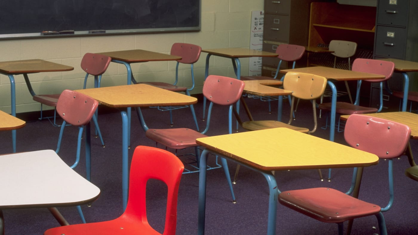 Empty Class Room.