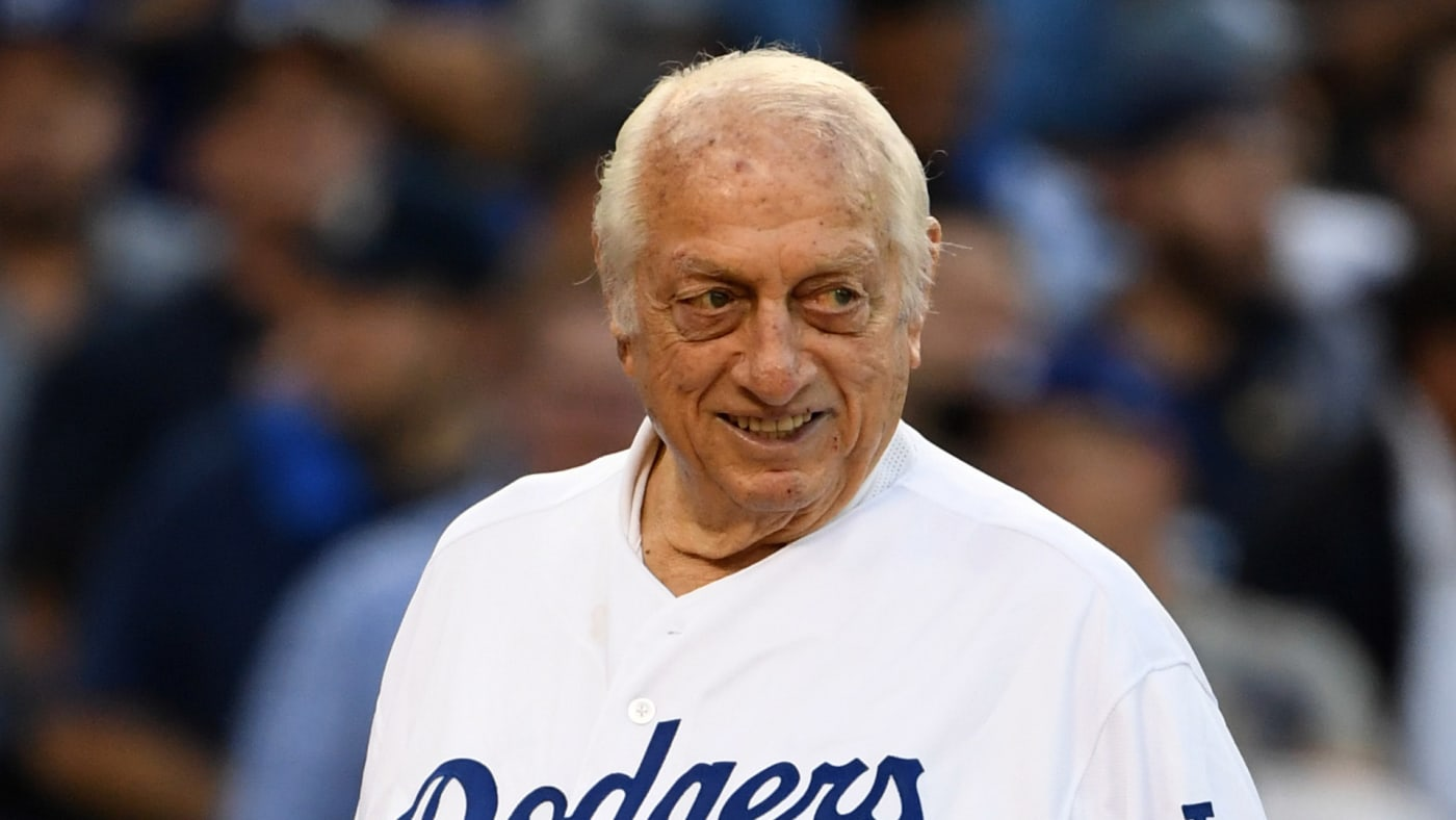 Hall of Fame manager Tommy Lasorda