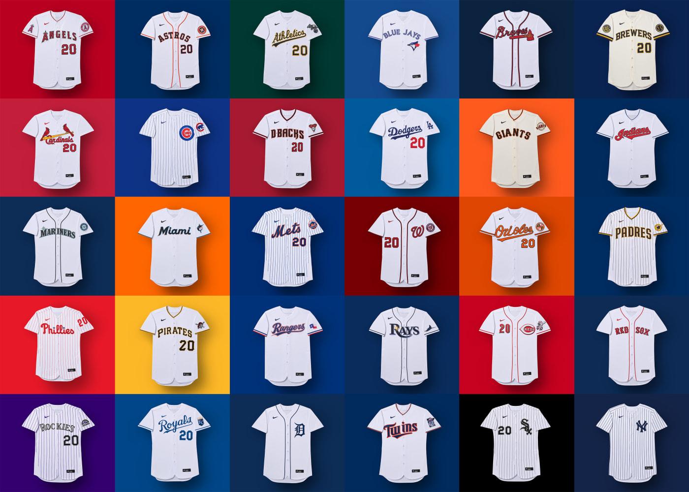 nike mlb uniforms 2020