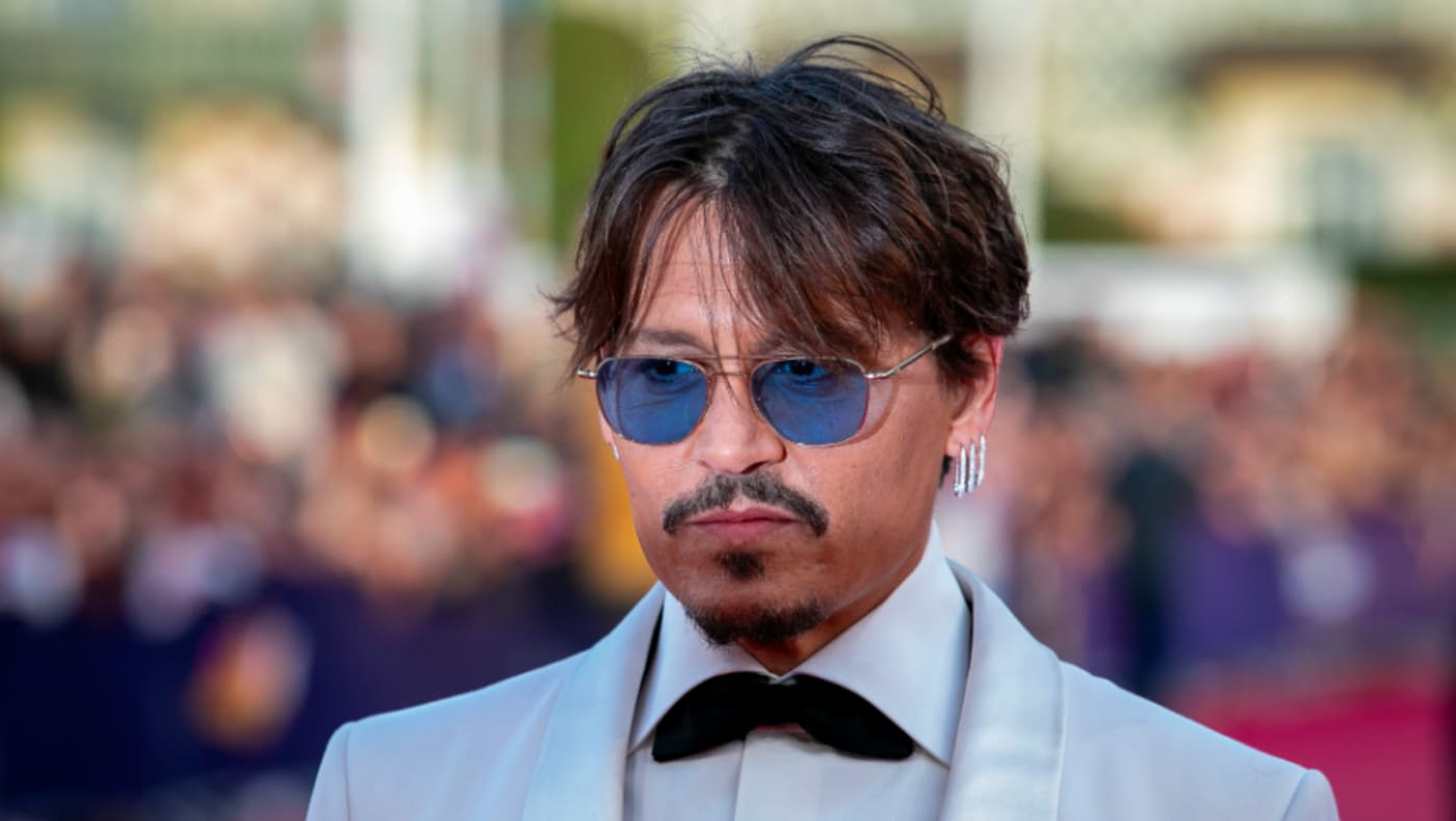 """Johnny Depp attends the """"Waiting For The Barbarians"""" Premiere"""