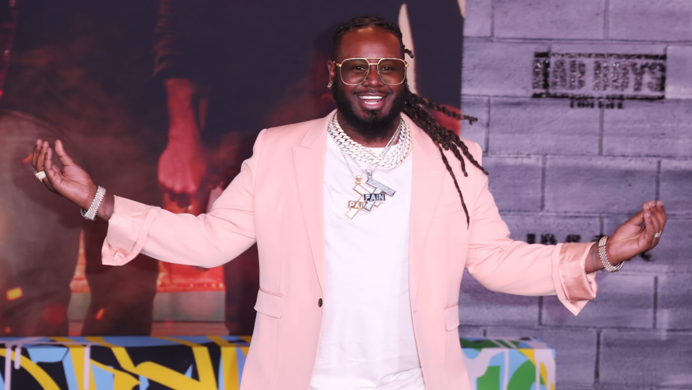 """T-Pain attends Premiere Of Columbia Pictures' """"Bad Boys For Life"""" at TCL Chinese Theatre"""