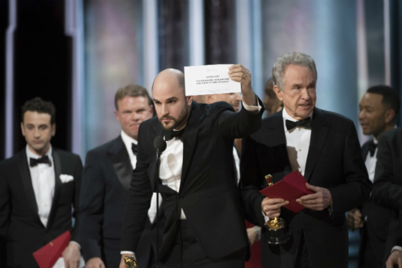 'Moonlight' wins Oscar for Best Picture