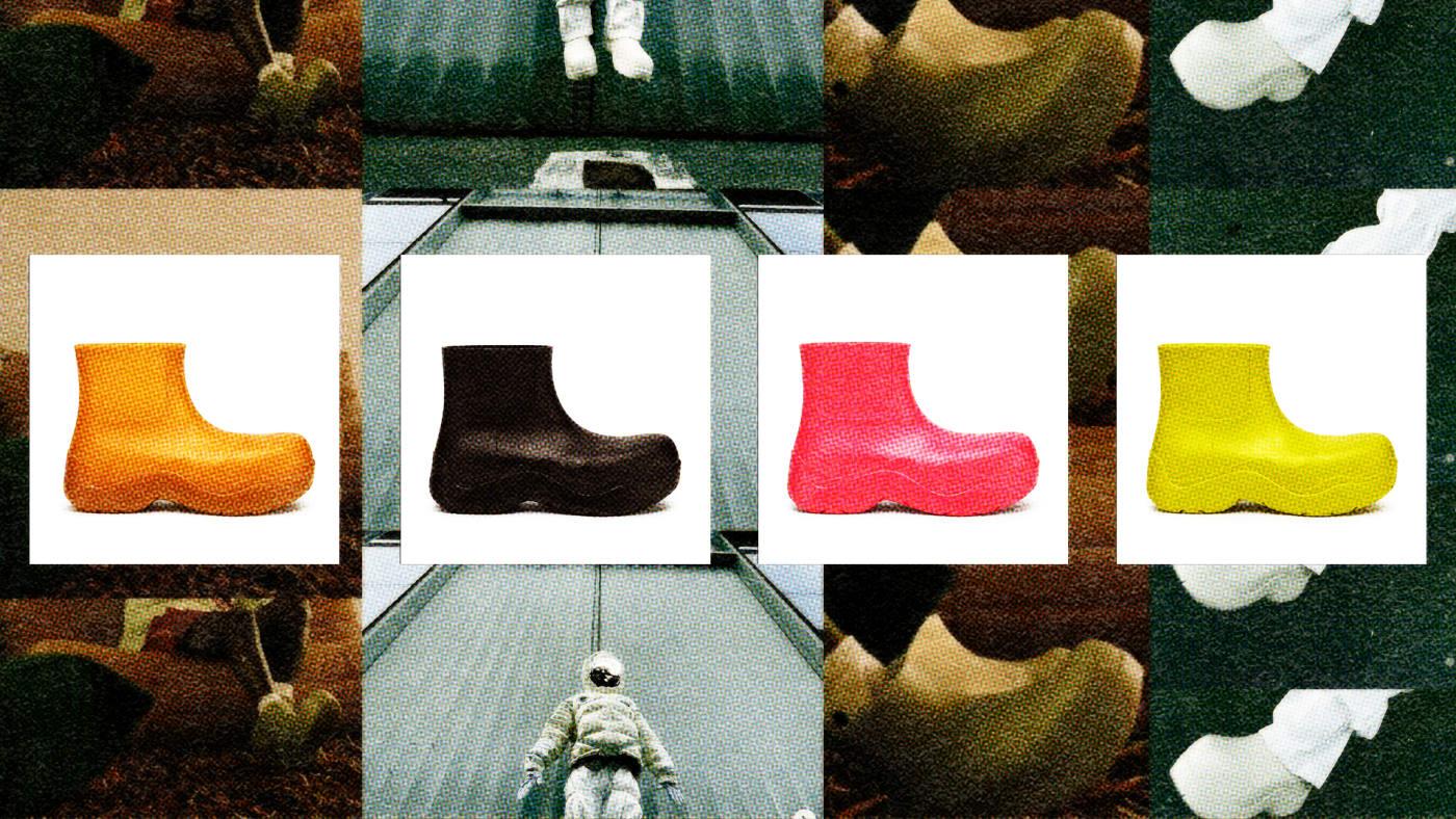 Bottega Veneta Puddle Boots Explainer