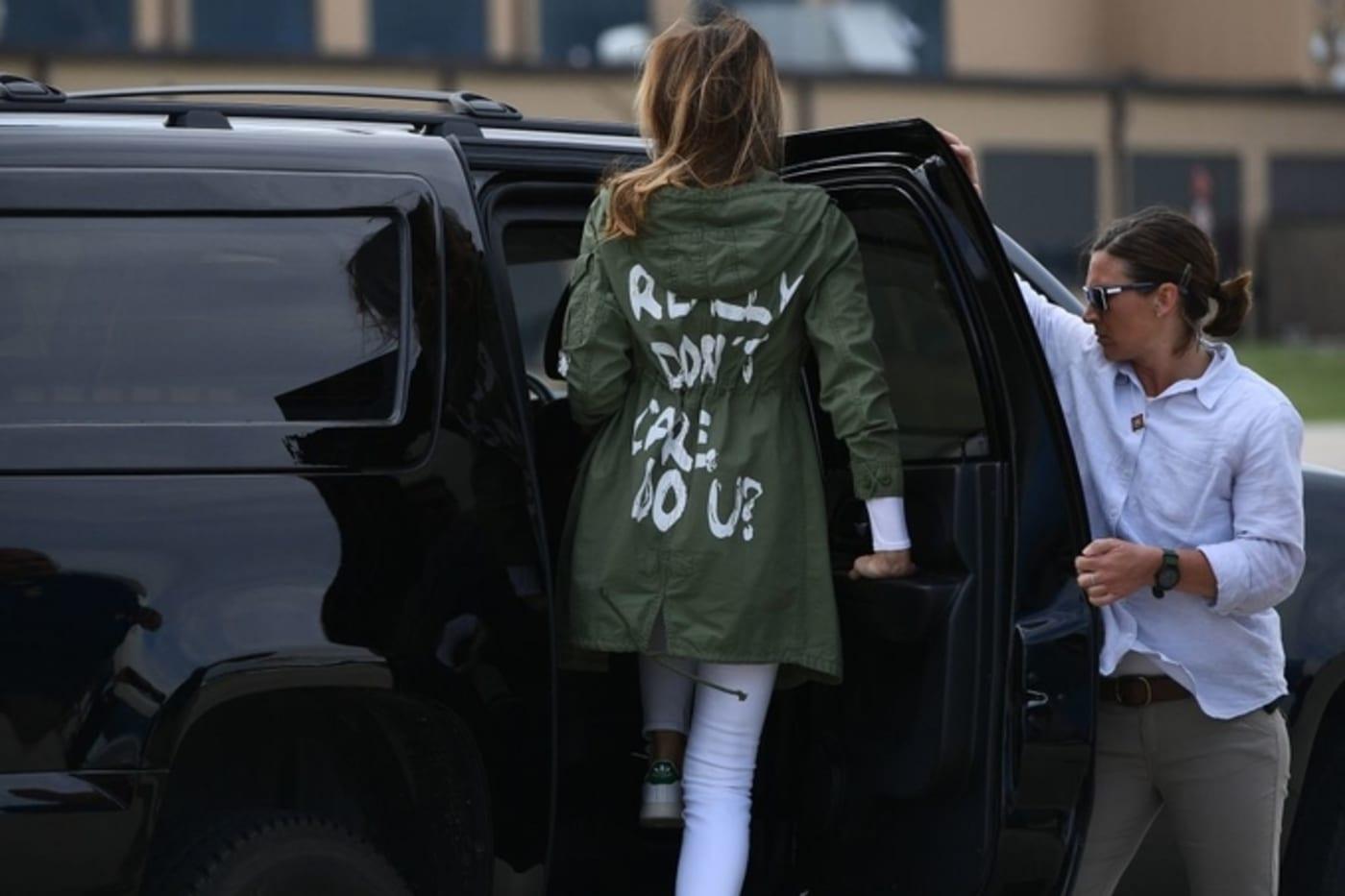 Melania Trump departs Andrews Air Force Base