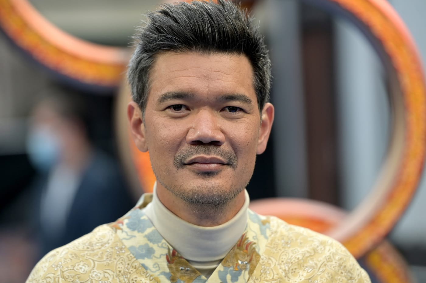 Destin Daniel Cretton attends the London 'Shang-Chi' premiere screening