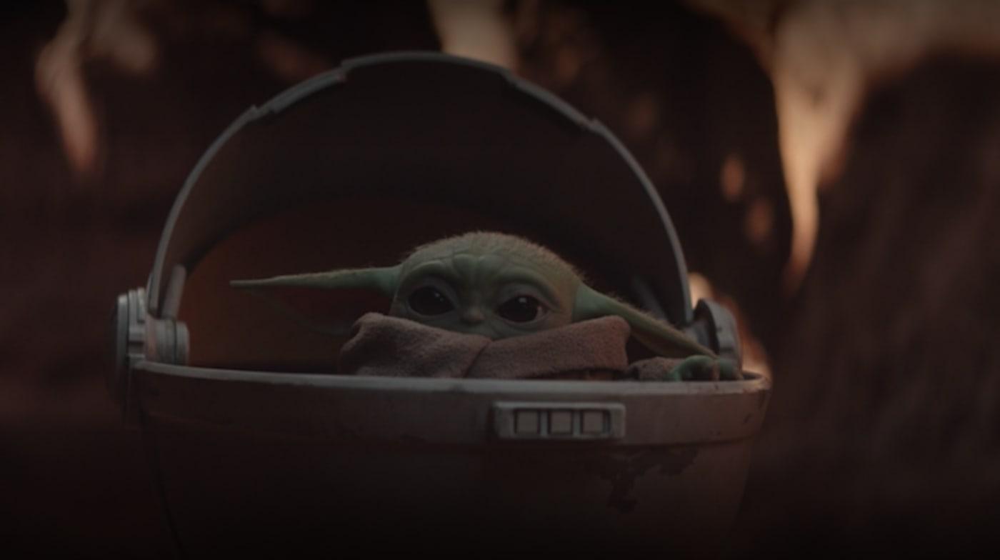 Baby Yoda AKA God