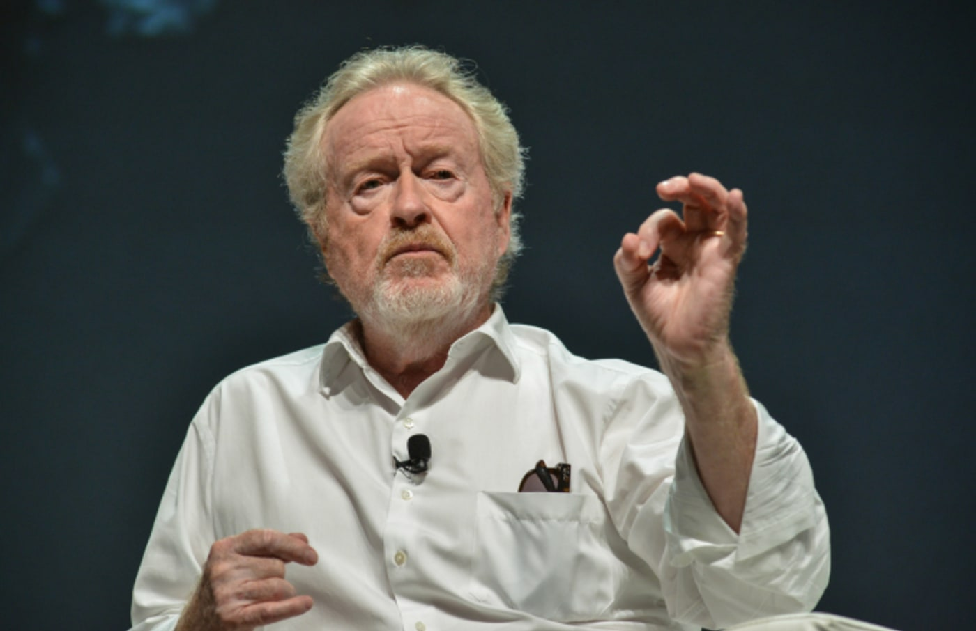 Director Ridley Scott attends the Cannes Lions Festival 2018