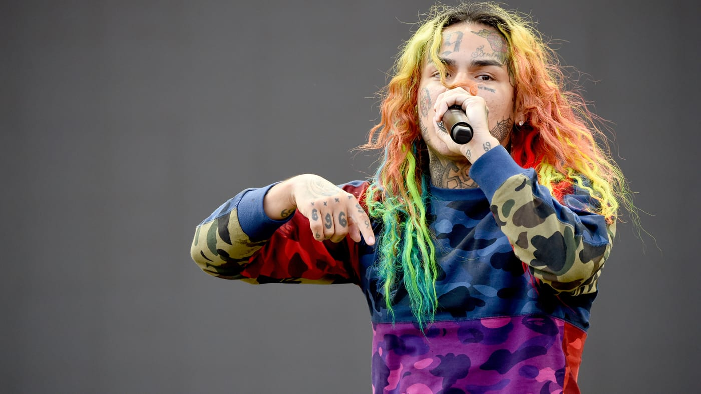 This is a photo of 6ix9ine