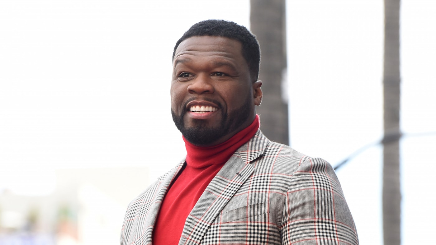 50 Cent attends the 50 Cent Walk Of Fame Ceremony