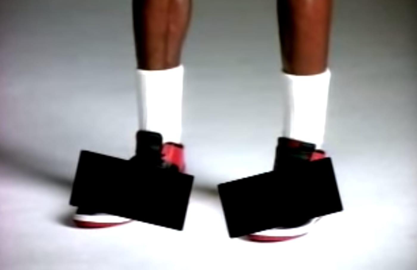 Michael Jordan Banned Sneakers Ad