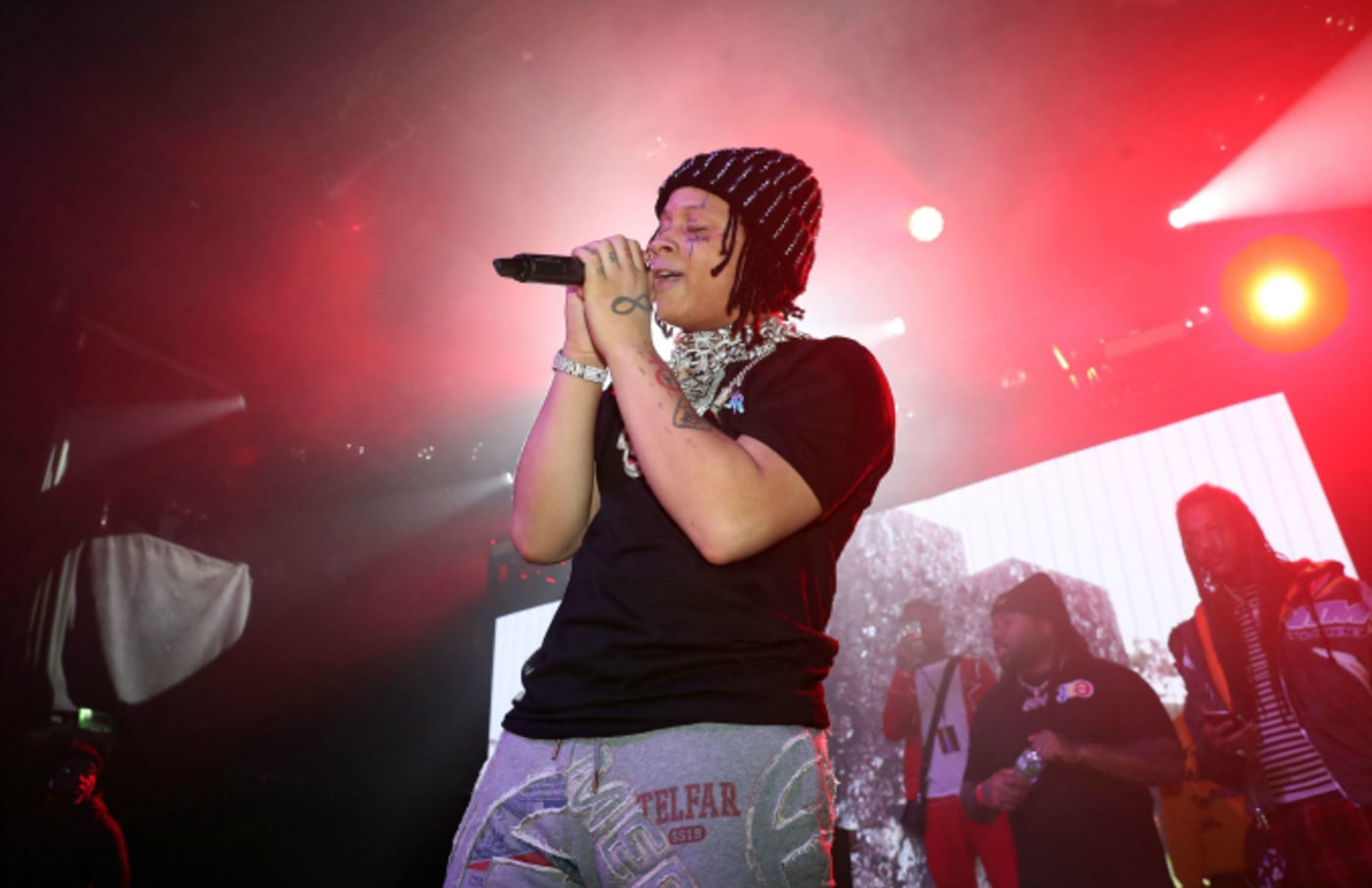 Trippie Redd performs at Irving Plaza