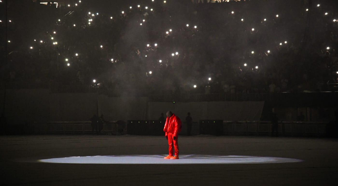 Kanye West listening session