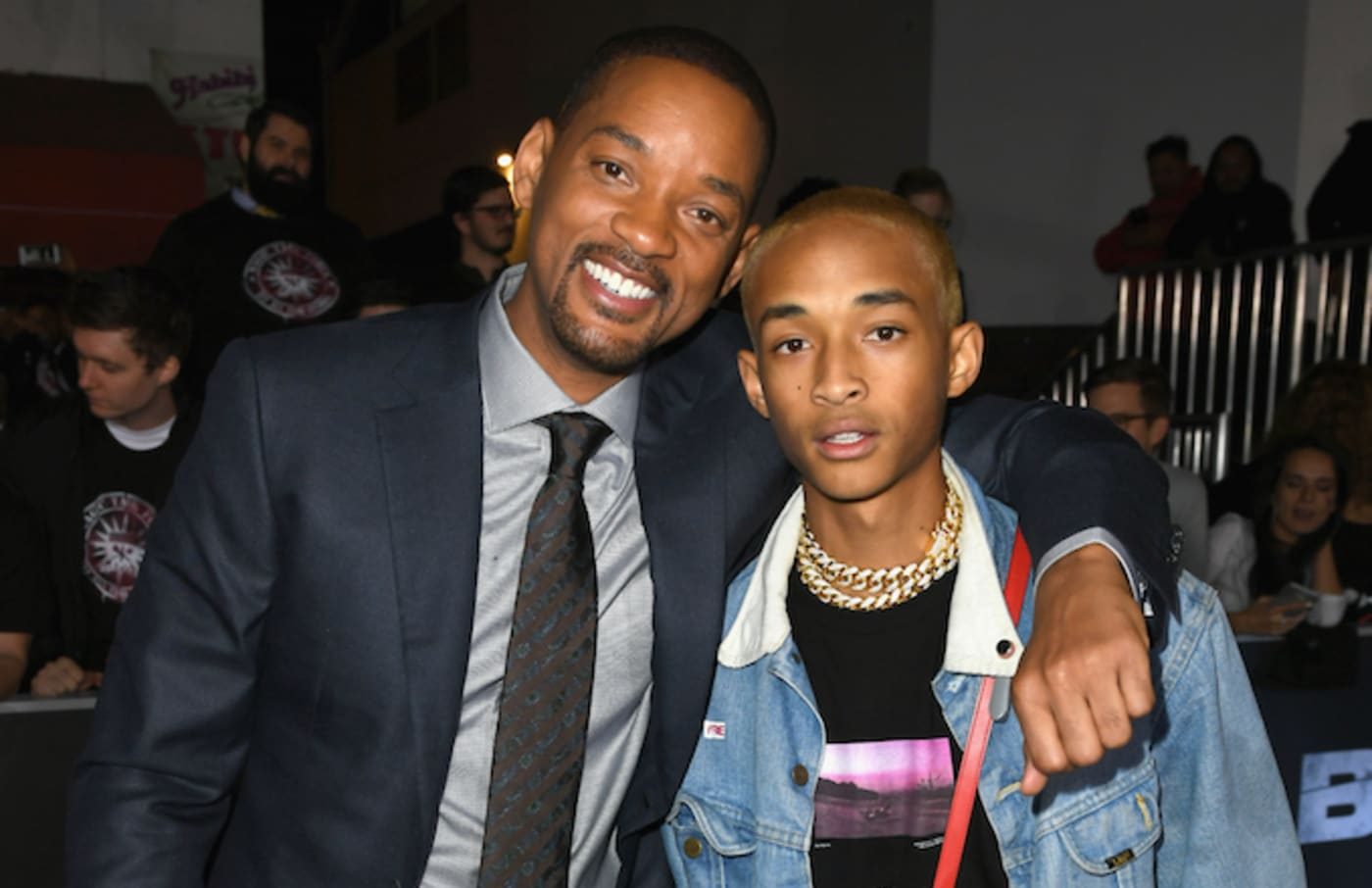 Will and Jaden Smith.