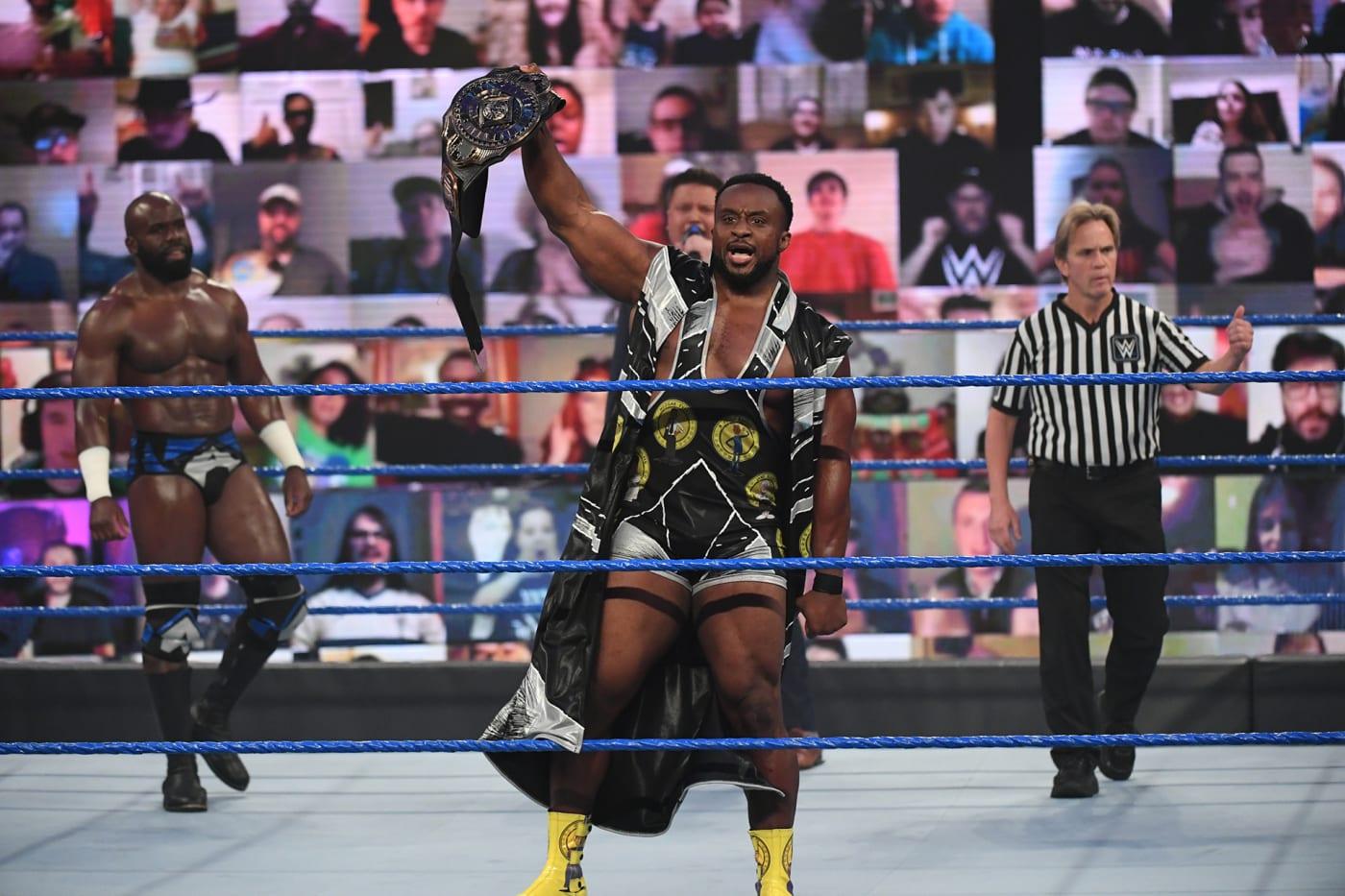 WWE Intercontinental Champion Big E on Smackdown