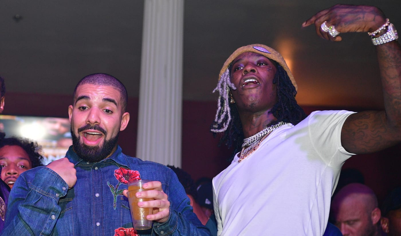 Drake and Young Thug