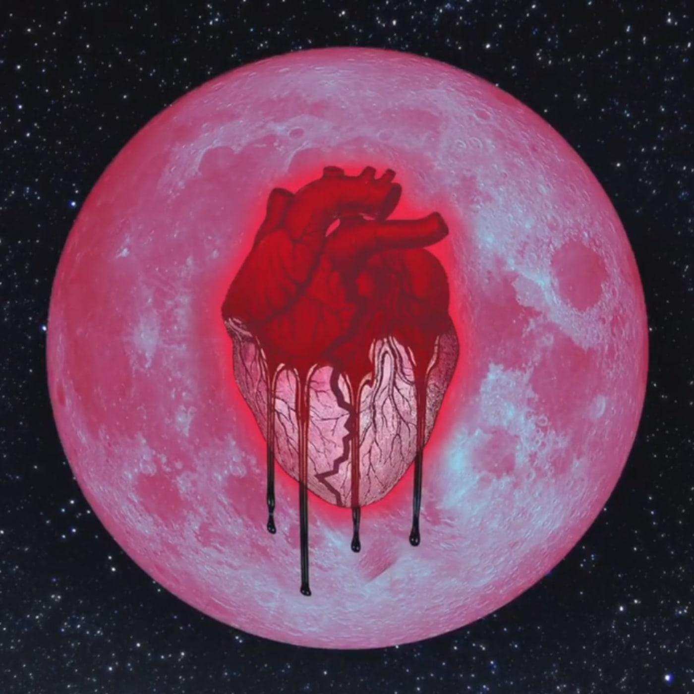 Chris Brown's 'Heartbreak on a Full Moon' cover.