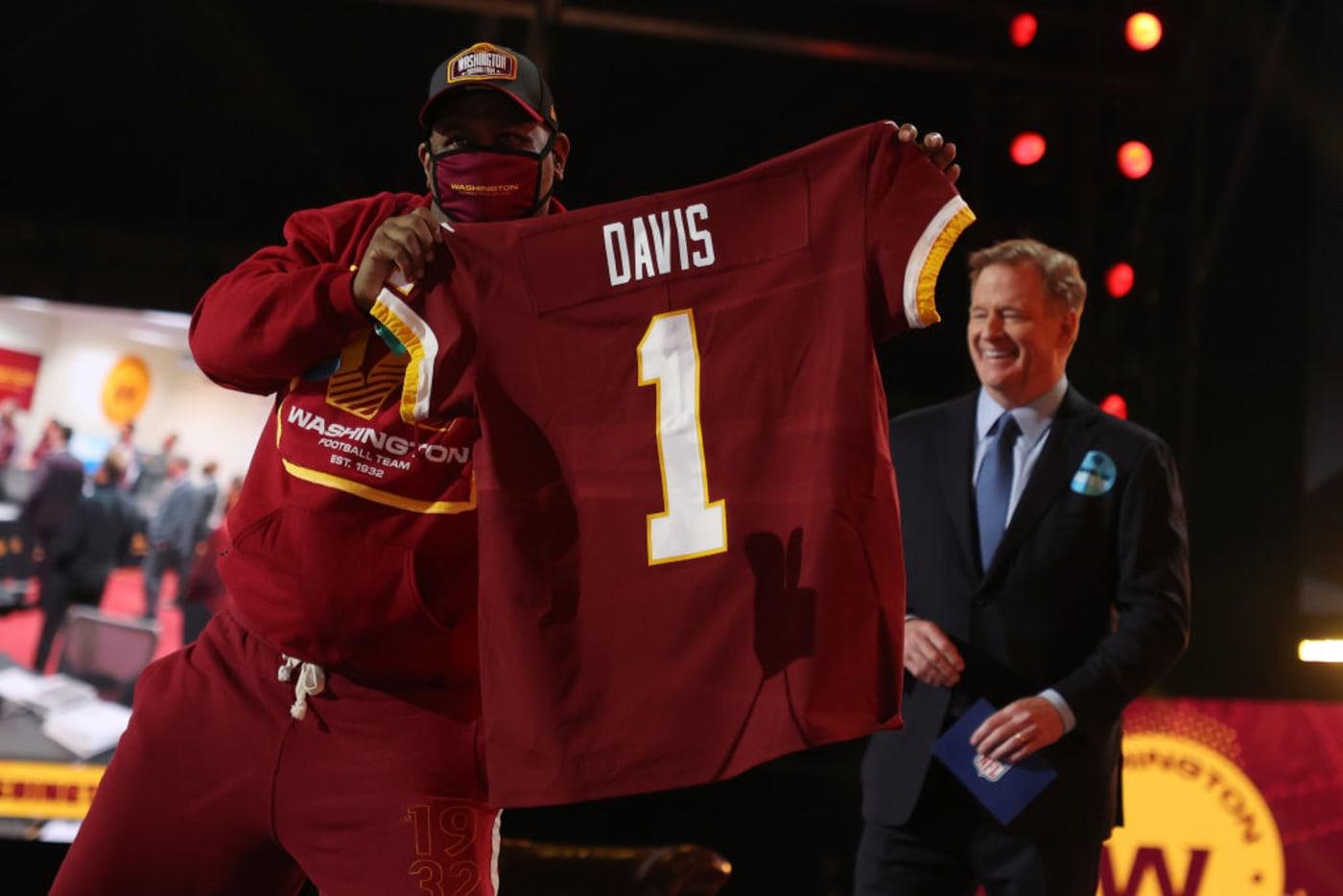 Jamin Davis Fan Jersey Draft NFL 2021