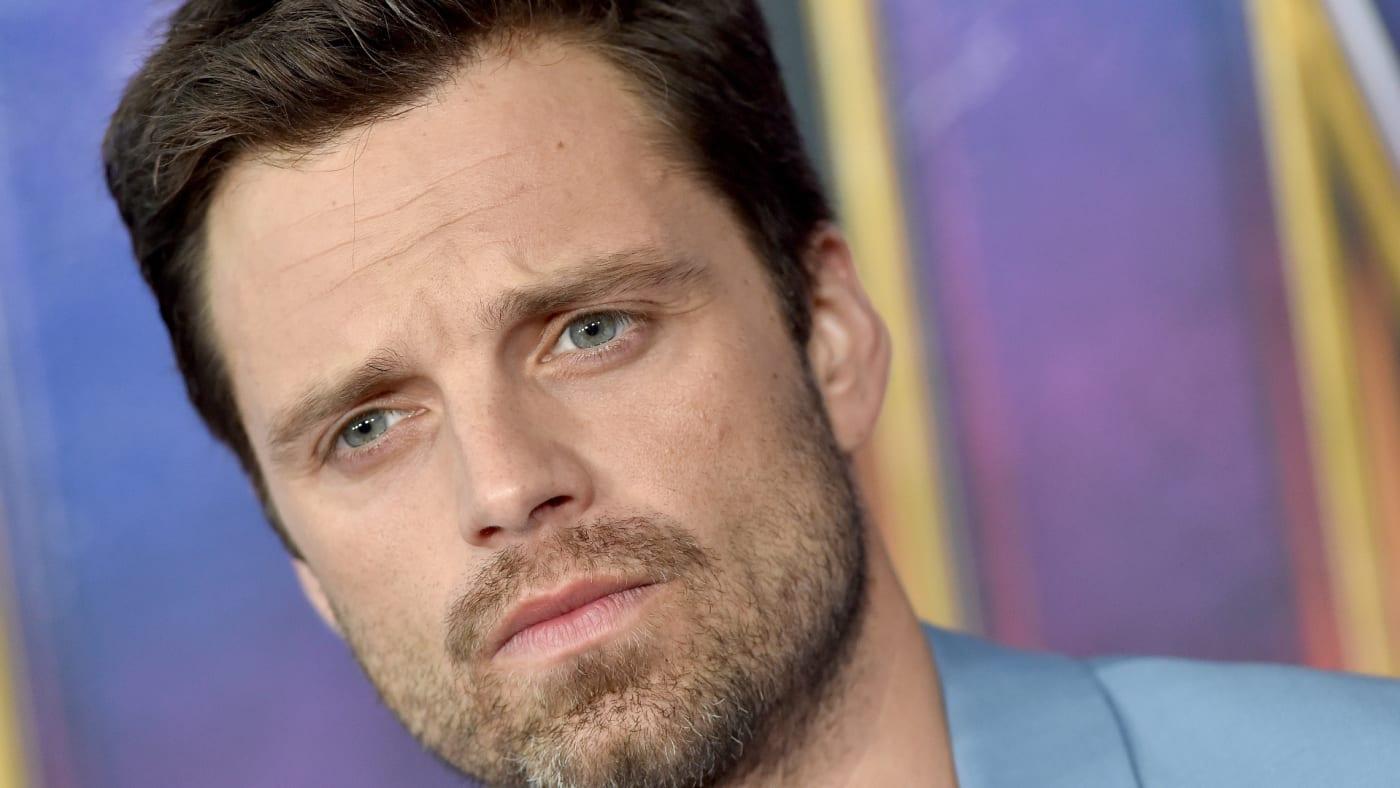 Sebastian Stan attends the World Premiere of 'Avengers: Endgame.'