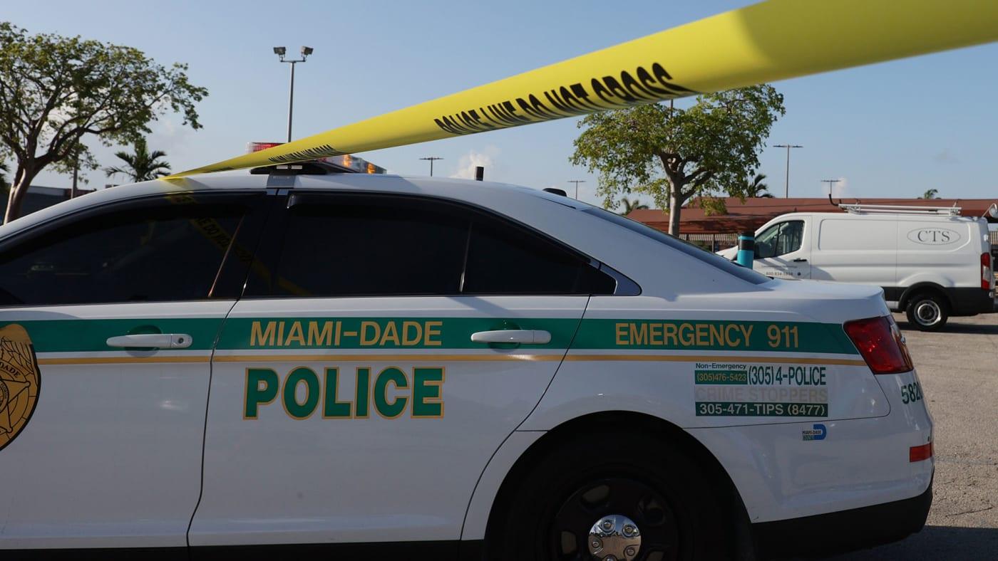Miami-Dade police car