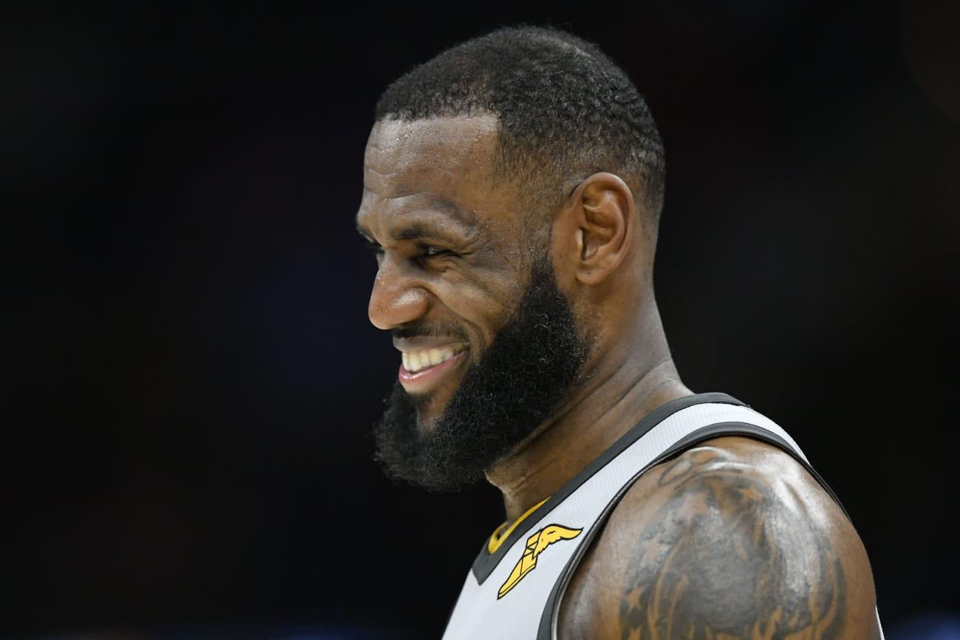 LeBron James Cavalieres Timberwolves 2018