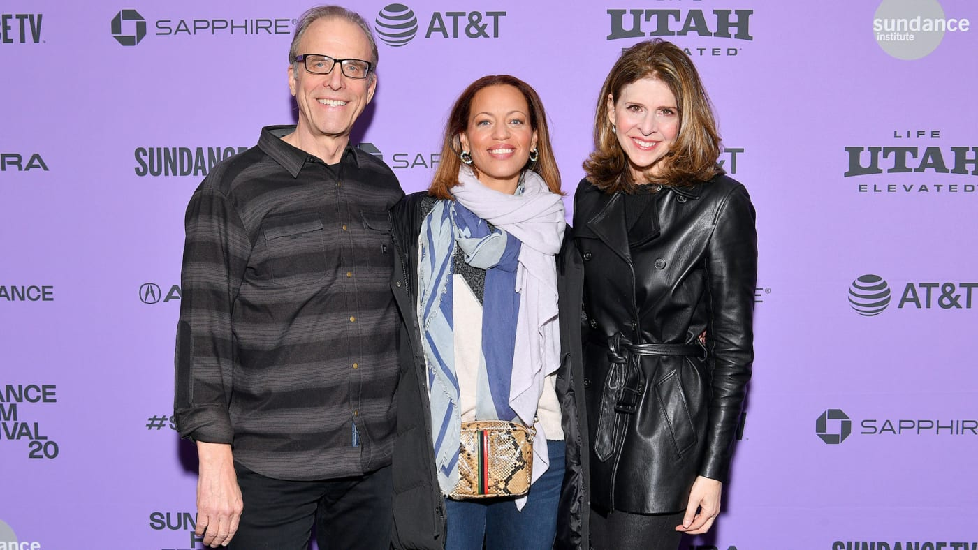 """Kirby Dick, Drew Dixon, and Amy Ziering attend 2020 Sundance   """"On The Record"""" Premiere."""