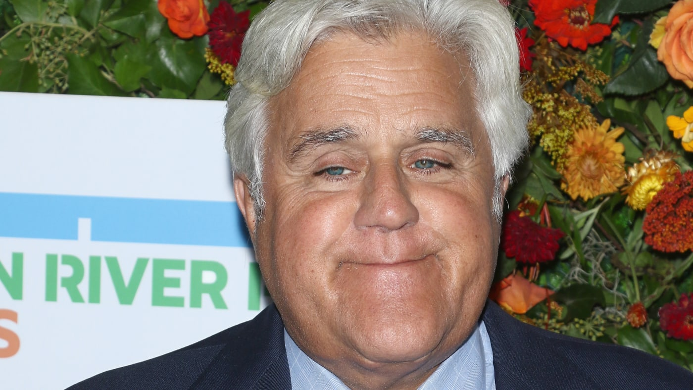 Jay Leno attends the 20th Anniversary Hudson River Park Gala.