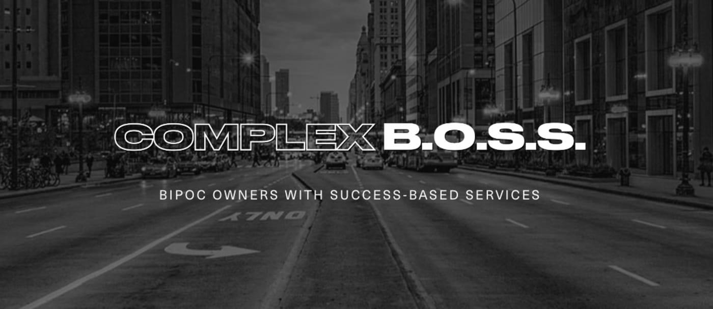 Complex Boss Header
