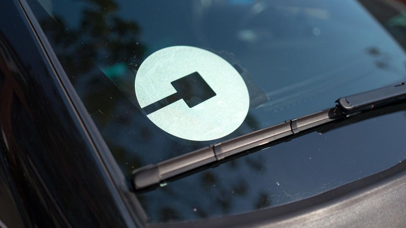 uber accident sticker
