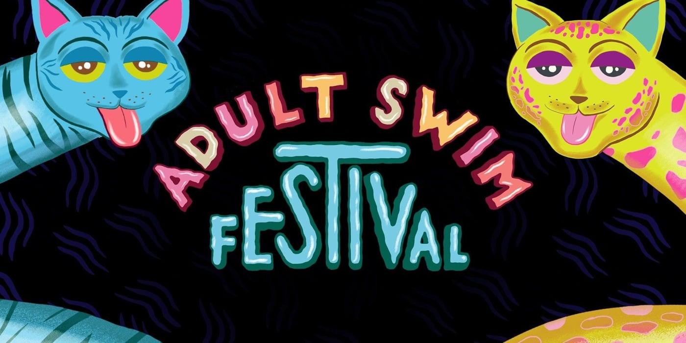 Adult Swim festival poster.