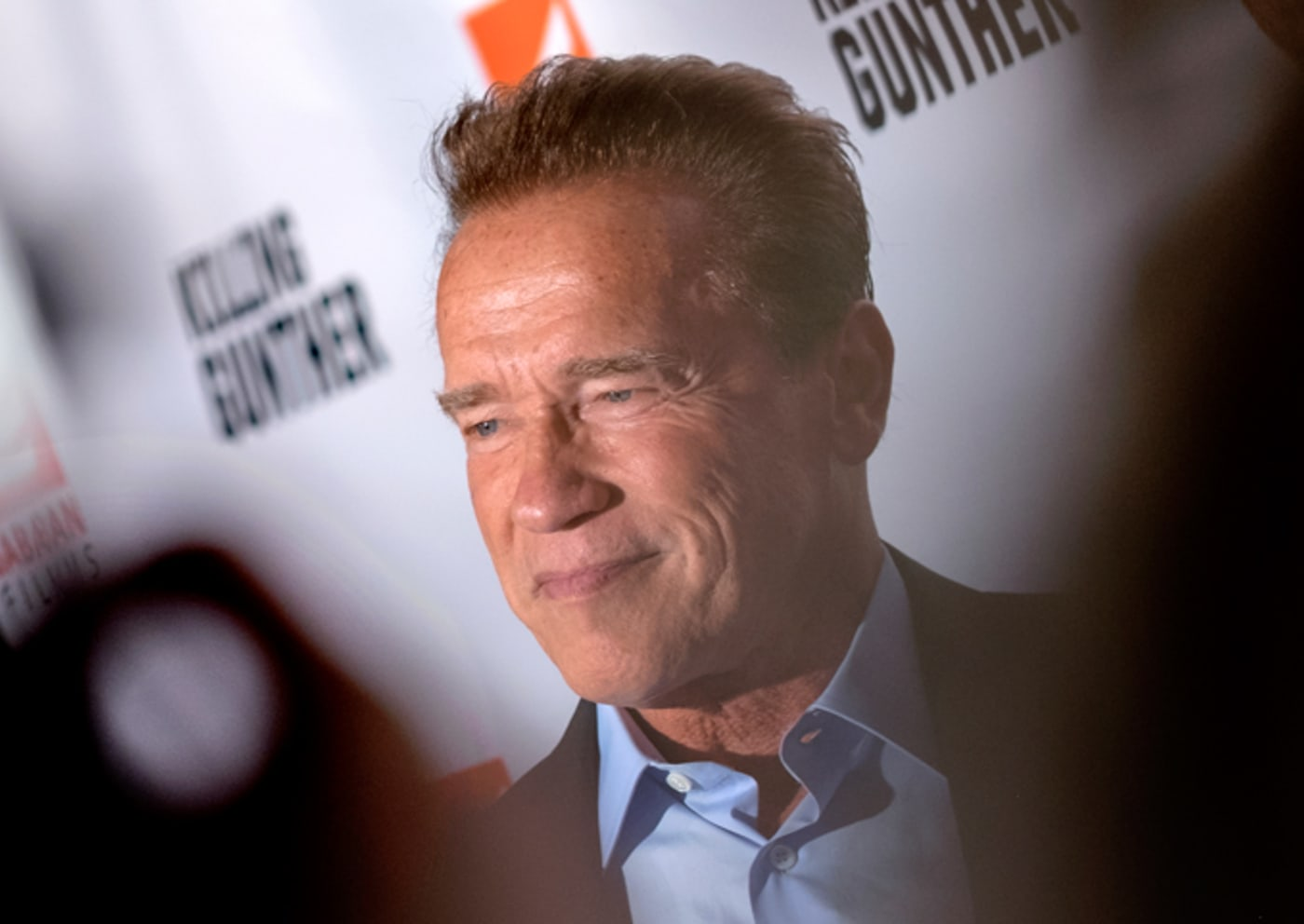 Arnold Schwarzenegger at the premiere Of Saban Films' 'Killing Gunther'