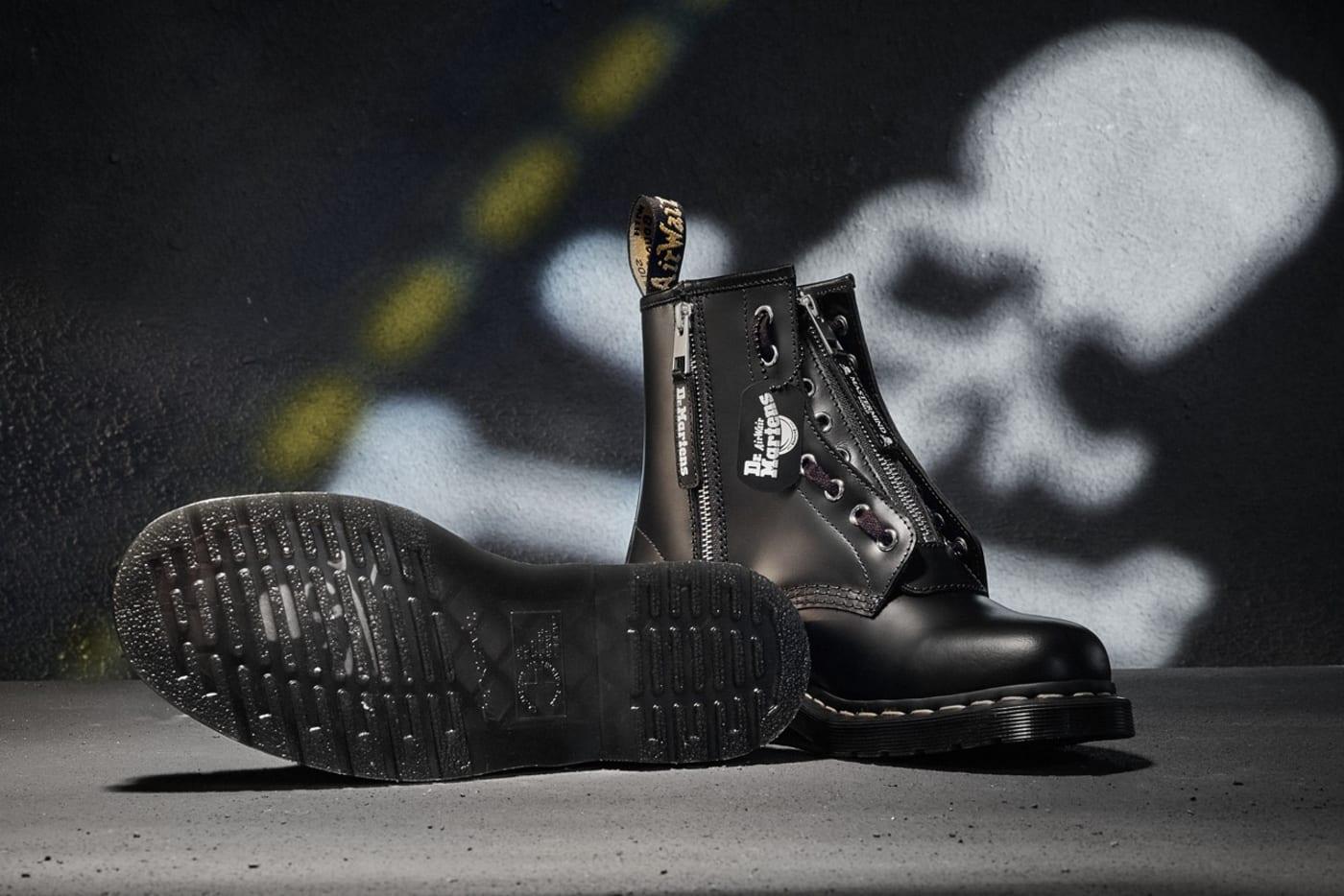 dr martens 1460 remastered fall winter 2020 japan boot skull punk 1