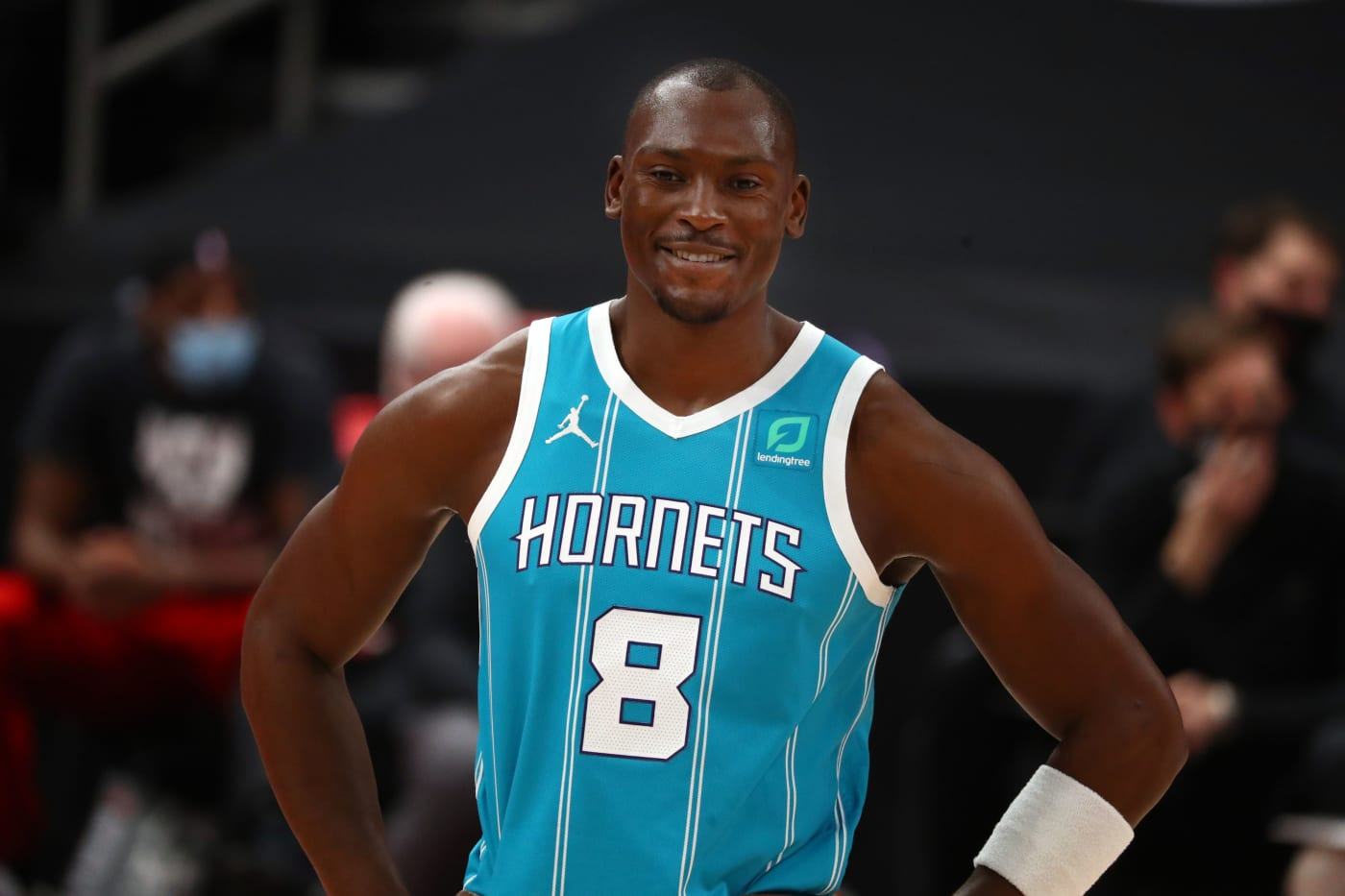 Bismack Biyombo Hornets Raptors 2021