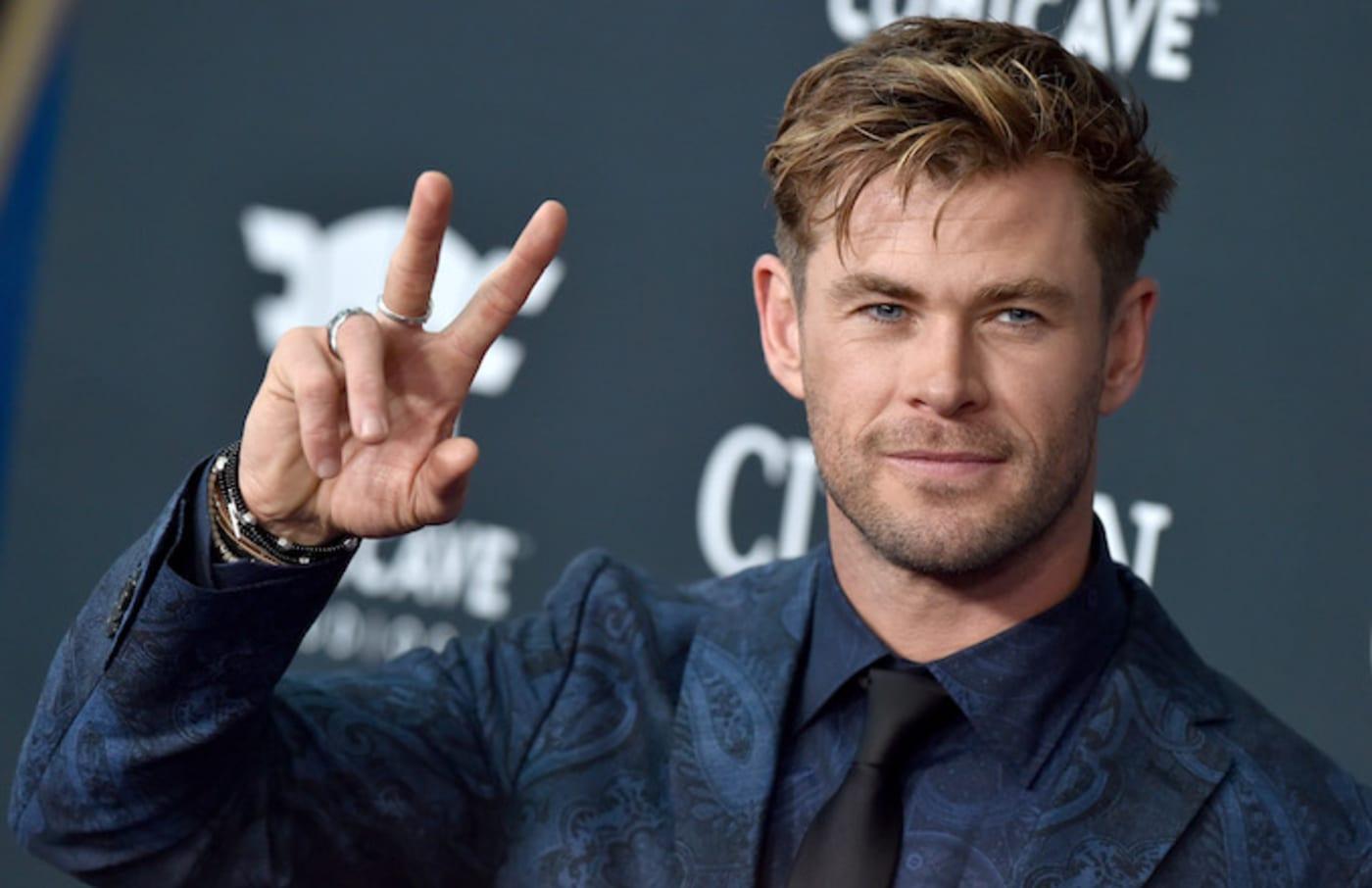 Chris Hemsworth attends the World Premiere of 'Avengers: Endgame.'