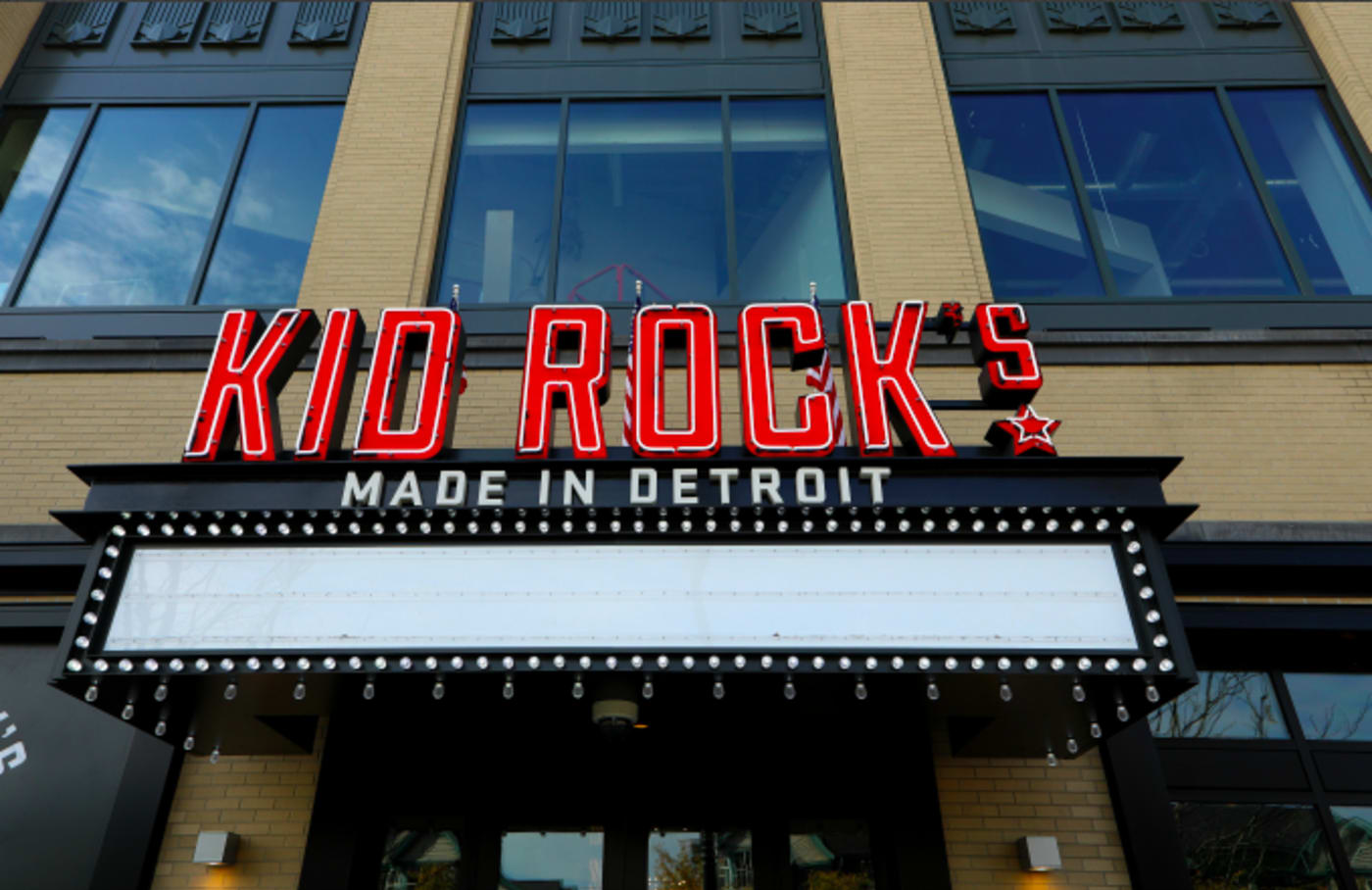 Singer Kid Rock's 'Made In Detroit' restaurant at Little Caesars Arena