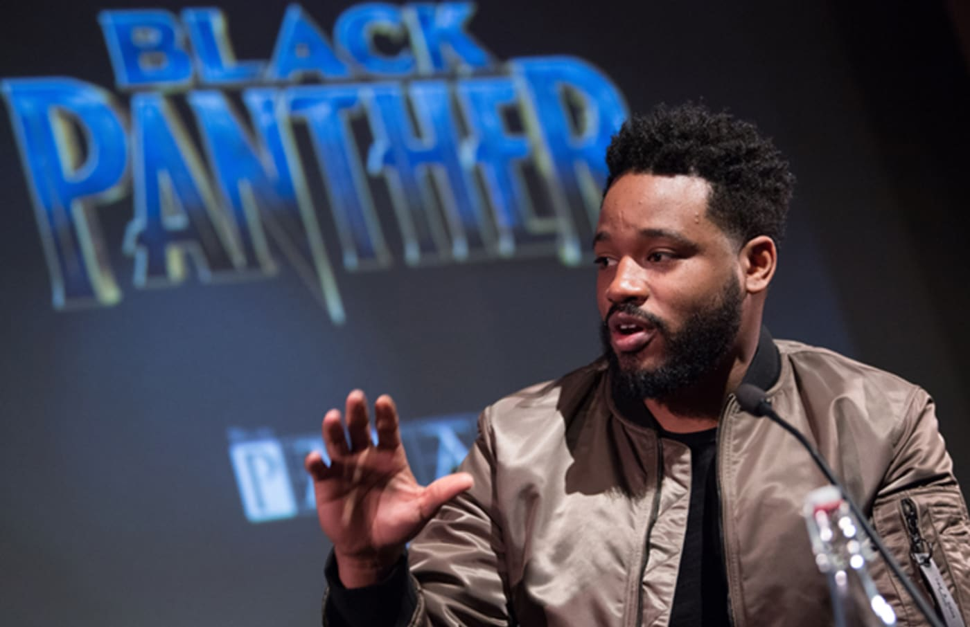 ryan coogler black panther press conference getty
