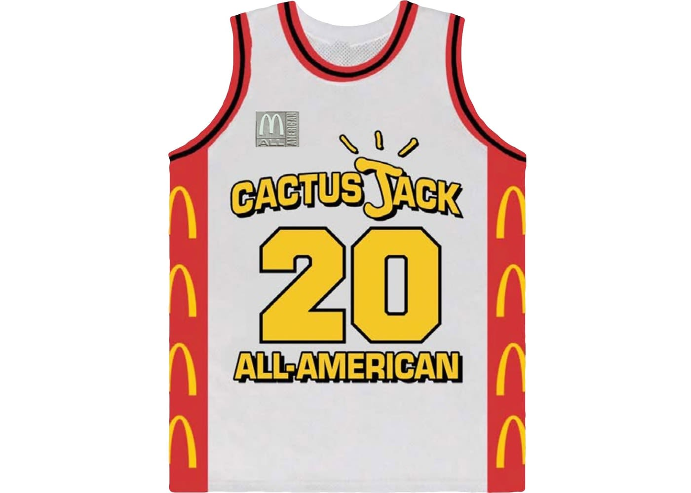 Cactus Jack All American Basketball Jersey