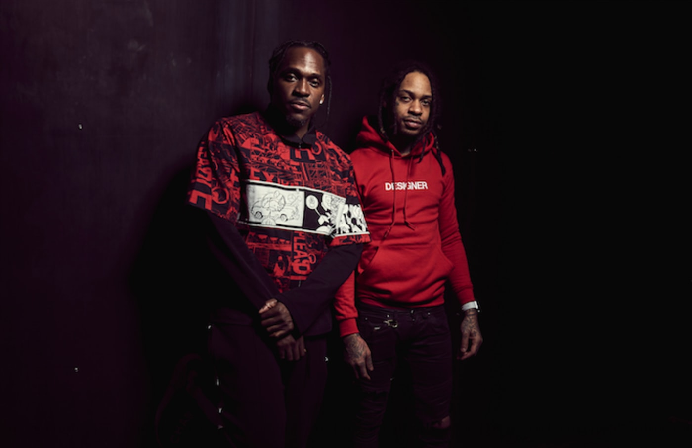 G.O.O.D. Music signee Valee With Pusha T