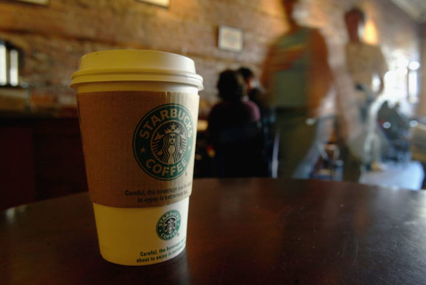 This is a picture of Starbucks.