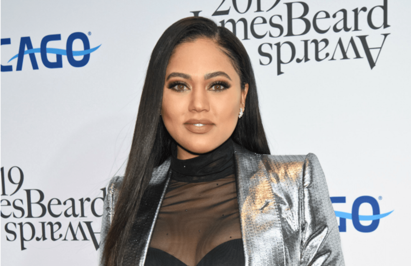 Ayesha Curry attends the 2019 James Beard Awards